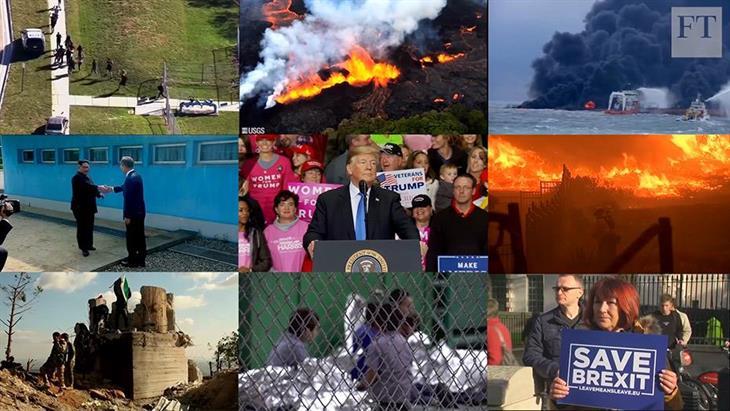 Οι εικόνες και τα γεγονότα που σημάδεψαν τη χρονιά