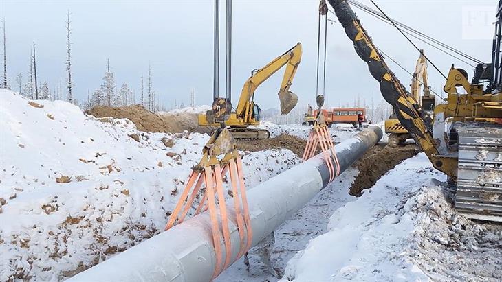 Η Μόσχα χτίζει την «ανατολική οδό» για το φυσικό αέριο